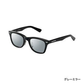 シマノ (Shimano) LU-101S フレーム:ブラック レンズ:グレーミラー VALBAROS ウェリントンタイプ