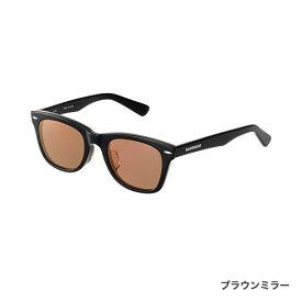 シマノ (Shimano) LU-101S フレーム:ブラック レンズ:ブラウンミラー VALBAROS ウェリントンタイプ