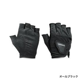 シマノ (Shimano) GL-012P オールブラック XLサイズ ナチュラルグローブ5