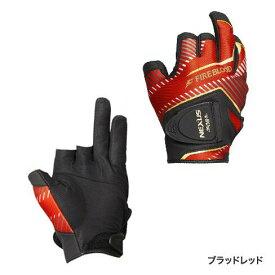 シマノ (Shimano) GL-143R ブラッドレッド Mサイズ レザノヴァ® マグネットグローブ3 LIMITED PRO