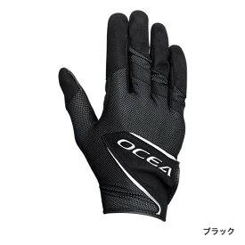 シマノ (Shimano) GL-255S ブラック Lサイズ OCEA・ストレッチグローブ ロングカフ
