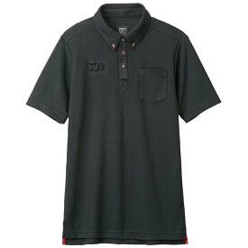 ダイワ (Daiwa) DE-6507 ブラック Mサイズ(ボタンダウンポロシャツ)