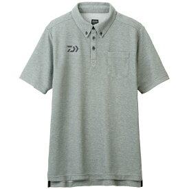 ダイワ (Daiwa) DE-6507 フェザーグレー Mサイズ(ボタンダウンポロシャツ)