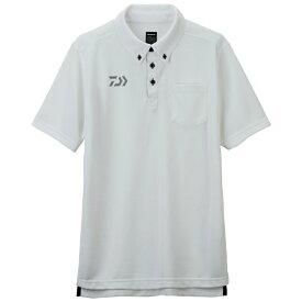 ダイワ (Daiwa) DE-6507 ホワイト XLサイズ(ボタンダウンポロシャツ)