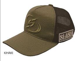 SLASH スラッシュ メッシュキャップナノ2 SL-167 カーキ