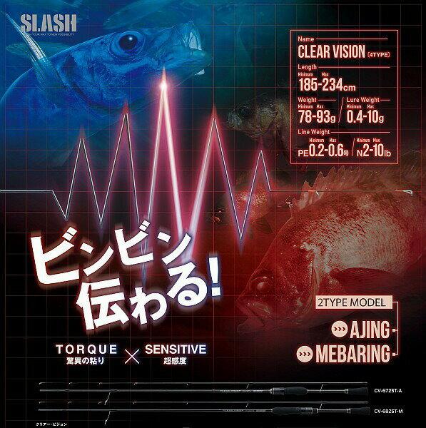 スラッシュ(SLASH) クリアーヴィジョン CV-782ST-M CLEAR VISION※画像は各サイズ共通です。