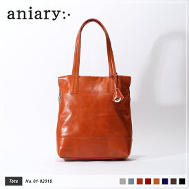 【新色 2019 S/S】【aniary|アニアリ】Antique Leather アンティークレザー 牛革 Tote トートバッグ 01-02018 メンズ [送料無料]