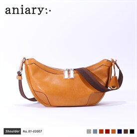 【新色 2019 S/S】【aniary|アニアリ】Antique Leather アンティークレザー 牛革 Shoulder ショルダーバッグ 01-03007 メンズ 斜め掛け [送料無料]