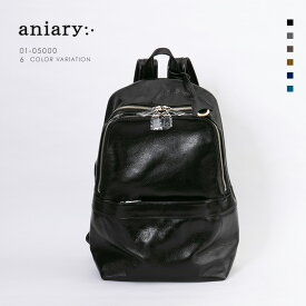 【aniary|アニアリ】Antique Leather アンティークレザー 牛革 Backpack バックパック 01-05000 メンズ リュックサック [送料無料]