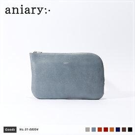 【新色 2019 S/S】【aniary|アニアリ】Antique Leather アンティークレザー 牛革 Goods オーガナイザー01-08004 メンズ [送料無料]