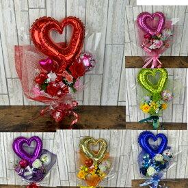NO5000 バルーンバンチ 卒業 成人式 バルーン花束 バルーン 豪華 かわいい 七五三 造花とバルーン 送料無料