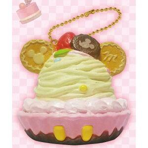ディズニー ミッキー ぷにぷにマスコット ボールチェーン付き バニラ タルト Sweets Party 628145