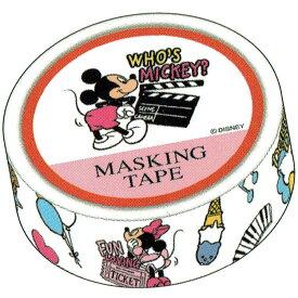 【エントリーでポイント5倍】 ディズニー ミッキー&フレンズ マスキングテープ 231517