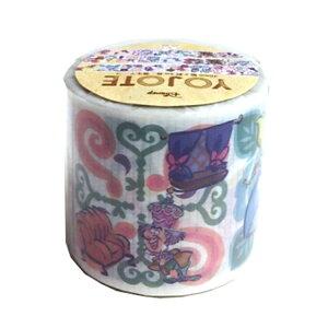 ディズニー 不思議の国のアリス ヨジョテ 養生テープ YOJOTE シール マスキングテープ