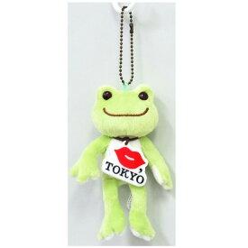 ピクルス×KISS, TOKYO マスコット ボールチェーン付き ベーシック KISS, TOKYO×pickles the frog 142146