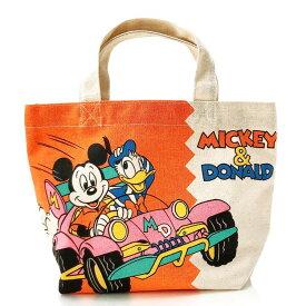 ディズニー ミッキー&ドナルド マチ付きバッグ ドライブ 710255