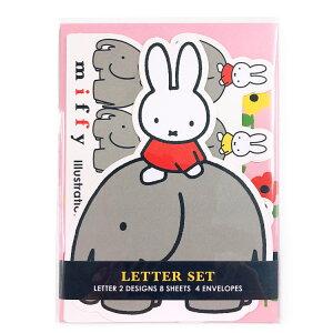 ミッフィー グッズ ダイカット カードレター ピンク 044710