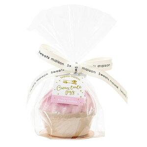 入浴剤 ギフト sweets maison OB-SMM-53-1 クリームタルトフィズ Fruity Chiffon ピンク