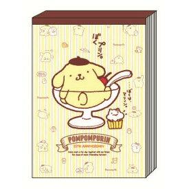 ポムポムプリン メモA6 トラディショナル 25周年 メモ帳