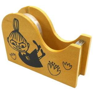 ムーミン グッズ 木製テープカッター リトルミイ