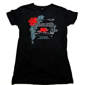 /EAGLES イーグルスW/FOIL ROSE CREST JUNIORS TISSUE レディースオフィシャル バンドTシャツ / 2枚までメール便対応可 / あす楽対応