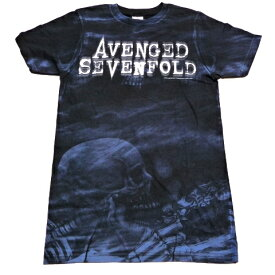 /AVENGED SEVENFOLD アヴェンジドセヴンフォールドSkeleton Mist Allover オフィシャル バンドTシャツ / 2枚までメール便対応可 / あす楽対応