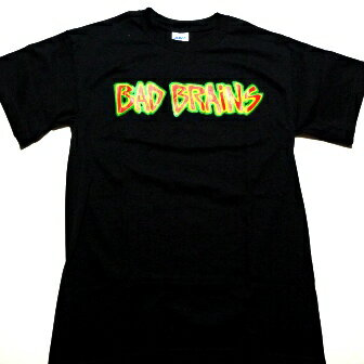 ☆☆☆【2枚までメール便対応可】BAD BRAINS バッドブレインズOMEGA SESSIONSオフィシャルバンドTシャツ【あす楽対応】