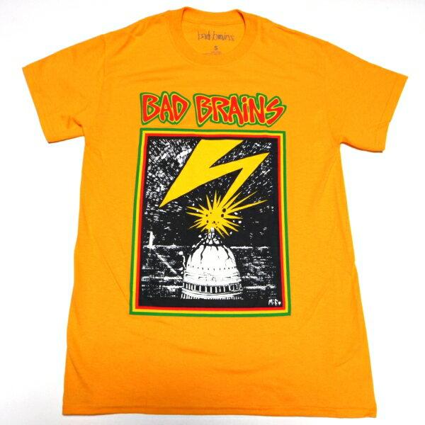 /BAD BRAINS バッドブレインズCAPITOL ON YELLOW オフィシャル バンドTシャツ / 2枚までメール便対応可 / あす楽対応