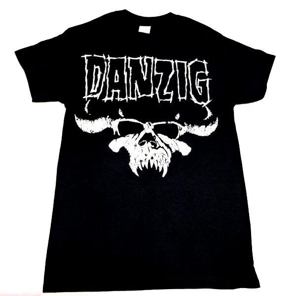 /DANZIG / GRENN DANZIG ダンジグSKULL LOGO オフィシャル バンドTシャツ / 2枚までメール便対応可 / 正規ライセンス品