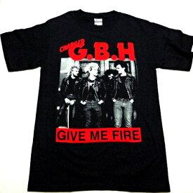 /G.B.H. ジービーエイチGIVE ME FIRE オフィシャル バンドTシャツ / 2枚までメール便対応可