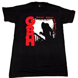 /G.B.H. ジービーエイチMIDNIGHT MADNESS オフィシャル バンドTシャツ【2枚までメール便対応可】
