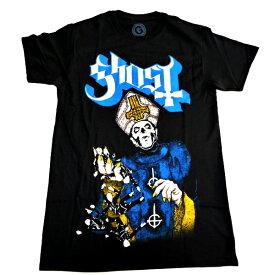 /GHOST ゴースト(Ghost B.C)PAPA OF THE WORLD ON FIRE オフィシャル バンドTシャツ / 2枚までメール便対応可 / あす対応