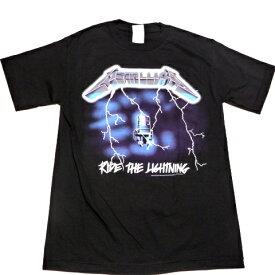 /METALLICA メタリカRIDE THE LIGHTNING オフィシャル バンドTシャツ / 2枚までメール便対応可 / あす楽対応