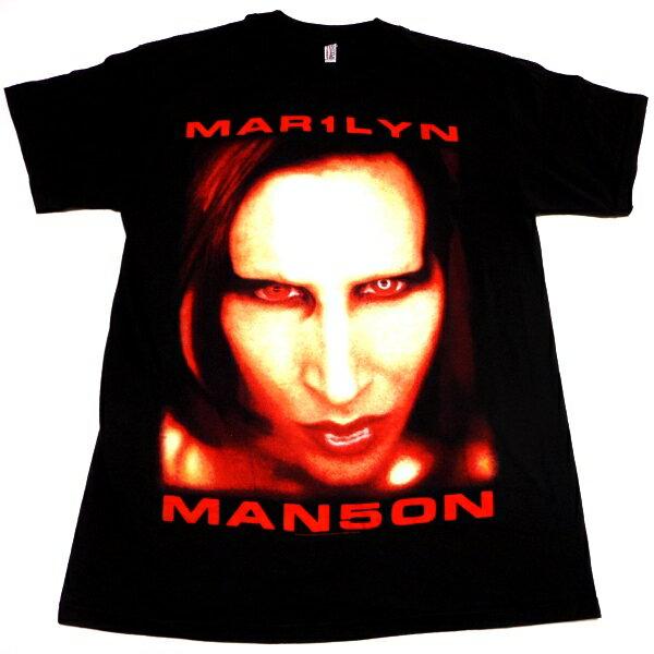 ☆☆☆【Tシャツは2枚までメール便対応可】MARILYN MANSON マリリンマンソンBIGGER THAN SATAN オフィシャルバンドTシャツ【あす楽対応】【正規ライセンス品】