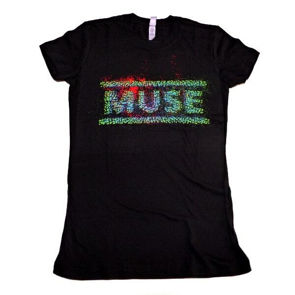☆☆☆【2枚までメール便対応可】MUSEミューズ EXPLODE 2013 Babydoll レディース オフィシャルバンドTシャツ【あす楽対応】