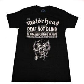 /MOTORHEAD モーターヘッドDEAF NOT BLIND オフィシャル バンドTシャツ / 2枚までメール便対応可 / あす楽対応