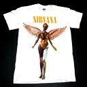 【2枚までメール便対応可】NIRVANA ニルヴァーナIN UTEROオフィシャルバンドTシャツ【あす楽対応】