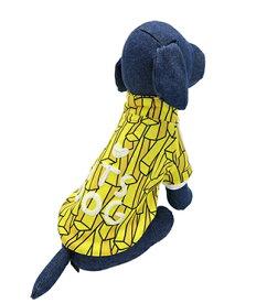 ITS DOG JAPAN ゴーゴーアイドルジャージ イエローポテト 犬の服 M