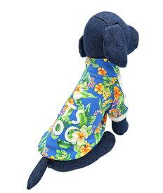 ITS DOG JAPAN ゴーゴーアイドルジャージ ブルートロピカル 犬の服 S