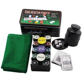 フェリモア ポーカーセット トランプセット カードゲーム カジノ チップ マット ダイスカップ付 (8点セット)