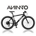 【ANIMATOアニマート】クロスバイク MC3(エムシースリー) 700c 自転車 軽量 アルミフレーム ストリート スタイリッシュ 街乗り スピード おすす...