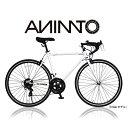 【ANIMATOアニマート】ロードバイク DEUCE(デュース) 700c 自転車 スピード 通勤 通学 ストリート スタイリッシュ お…