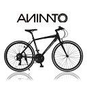 【ANIMATOアニマート】クロスバイク ENFLER (アンフレア) 700c 自転車 軽量 アルミフレーム 通勤 スピード おすすめ【…