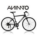 【ANIMATOアニマート】クロスバイク BRIGGS (ブリッグス) 700c 自転車 軽量 アルミフレーム 通勤 おしゃれ