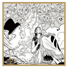 ワンピース ONE PIECE 麦わらストア限定 バースデーセレブレーション ミニ色紙風イラストシート ニコ・ロビン