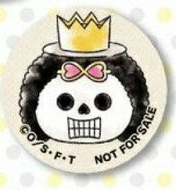 【非売品】ワンピース ONE PIECE 麦わらストア限定 ムギムギ キャンペーン! 特典 缶バッジ ブルック