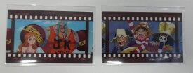 ONE PIECE ワンピース フィルム風コレクション モンキー・D・ルフィ & ウソップ & ブルック ナミ & フランキー 2枚セット 単品 クリアシート