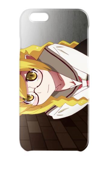 【新品】物語シリーズ イメージカット スマホケース 忍 コレクション i-Phone6/6s イラスト 忍野 忍 制服
