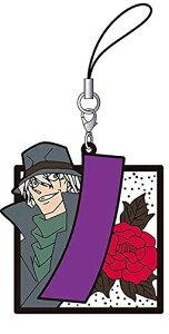名探偵コナン ラバーストラップコレクション 花札 ジン 単品 ストラップ《ポスト投函 配送可》