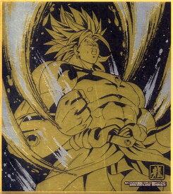 ドラゴンボール 色紙ART11 レア 伝説の超サイヤ人 ブロリー 金色+銀色のW箔押し仕様 単品 色紙 DRAGON BALL《ポスト投函 配送可》